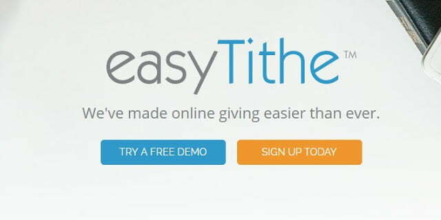 easyTithe online Giving Solution and Donation Software Review