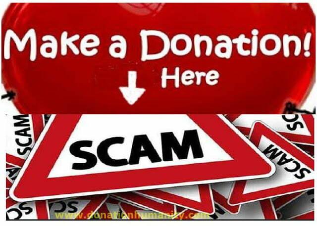 Donation Scam