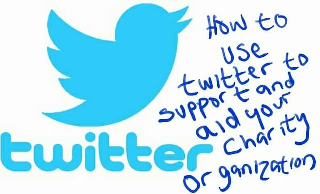 Twitter charity organisations aid