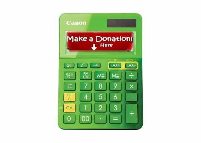 Donation calculator