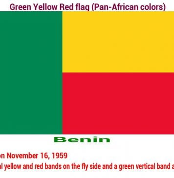 benin-green-yellow-red-flag-pan-african color