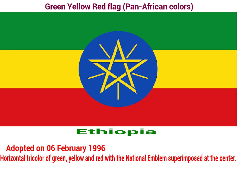 ethiopia-green-yellow-red-flag-pan-african color