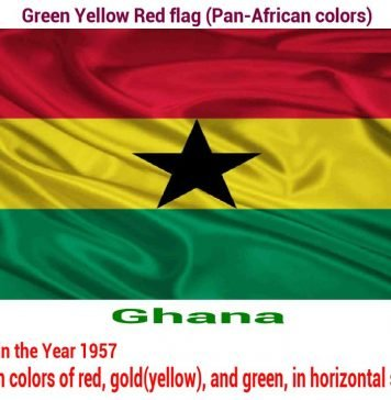ghana-green-yellow-red-flag-pan-african color