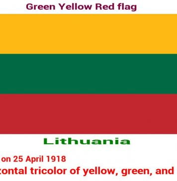 lithuania-green-yellow-red-flag