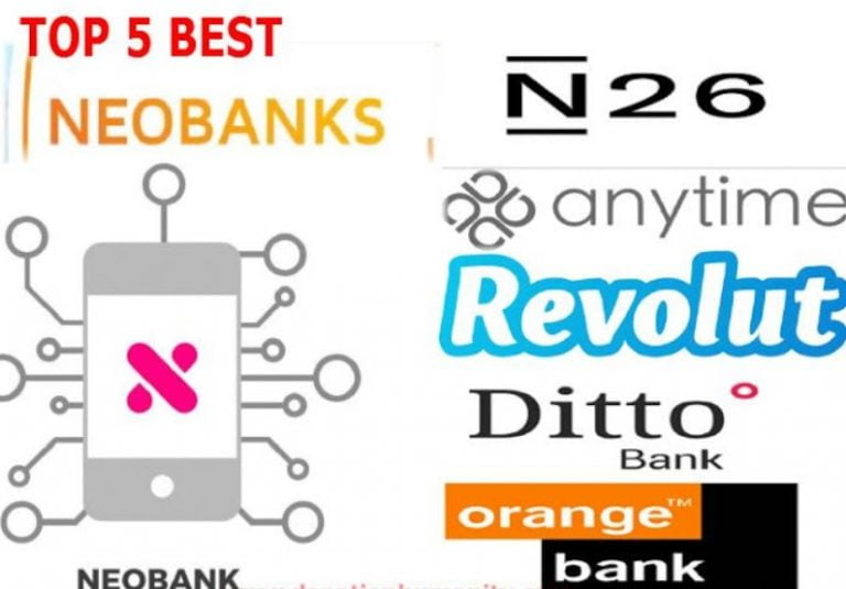 (Review) The Best 5 Neobanks for individuals in 2020