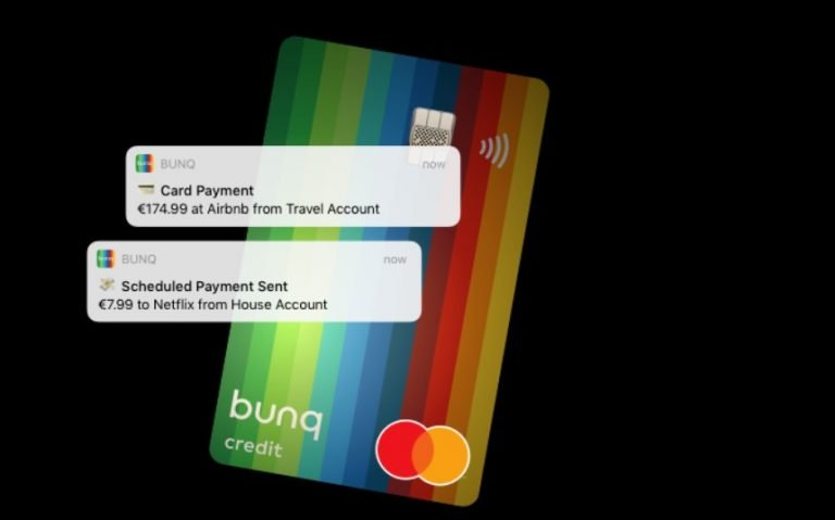 Bunq Travel Debit Card MasterCard Review (RAte, Cost, Usage Pros and Cons)