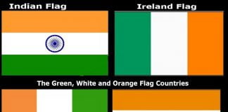 países de bandera verde-blanco-naranja