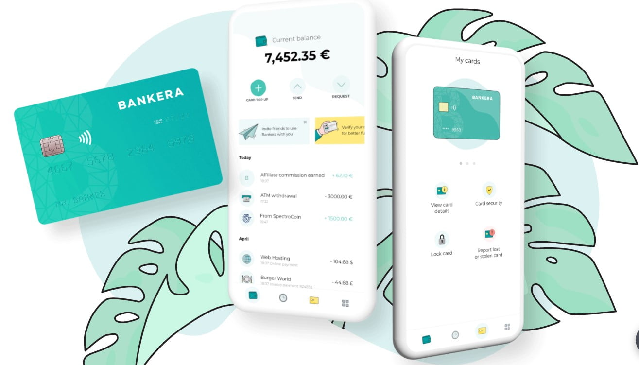 Bankera Review: Free personal and business European IBAN accounts to clients internationally