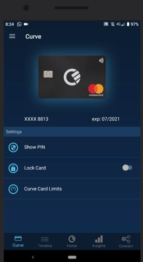 curve-card-interface-and-how-it-works