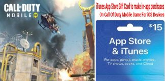 itunes-gift-card-call-of-duty-mobile-ios-purchases