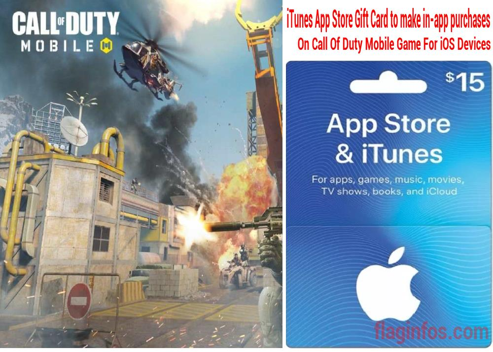 How to Use iTunes App Store Gift Card to make in-app purchases On Call Of Duty Mobile Game For iOS Devices.