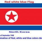 north-korea-red-white-blue-flag