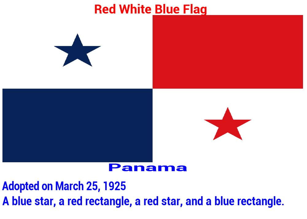 panama-red-white-blue-flag