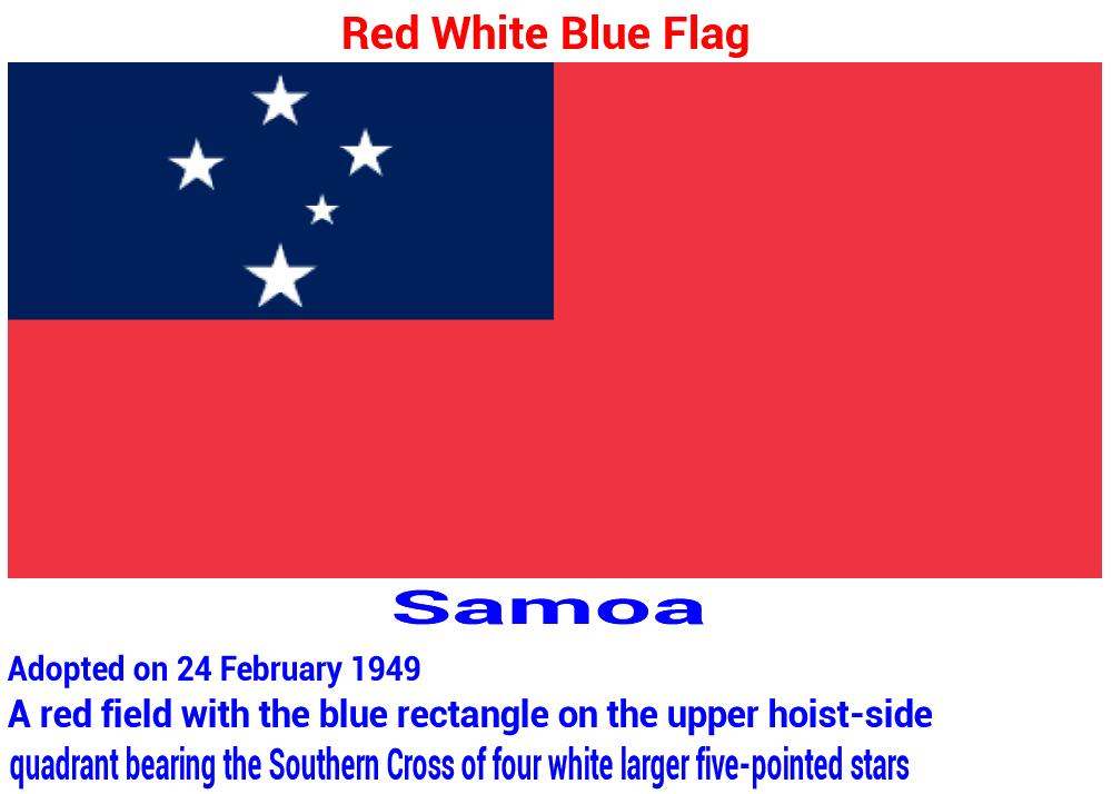 samoa-red-white-blue-flag