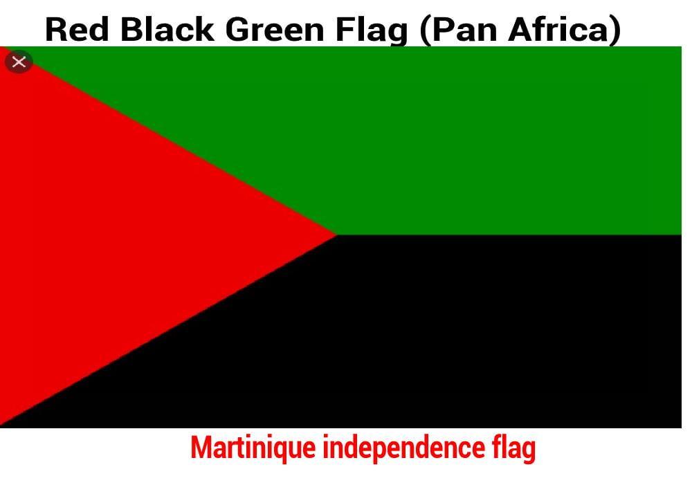 Martinique-independence-flag-red-black-green-flag