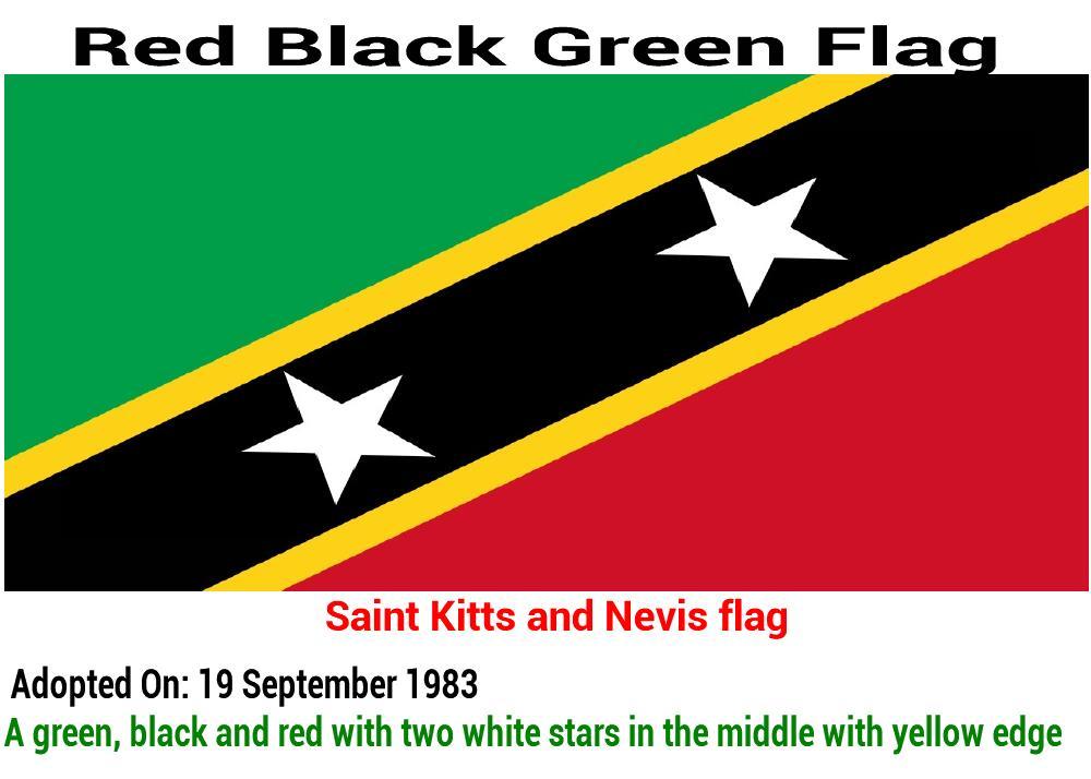 saint-kitts-and-nevis-flag-red-black-green-flag
