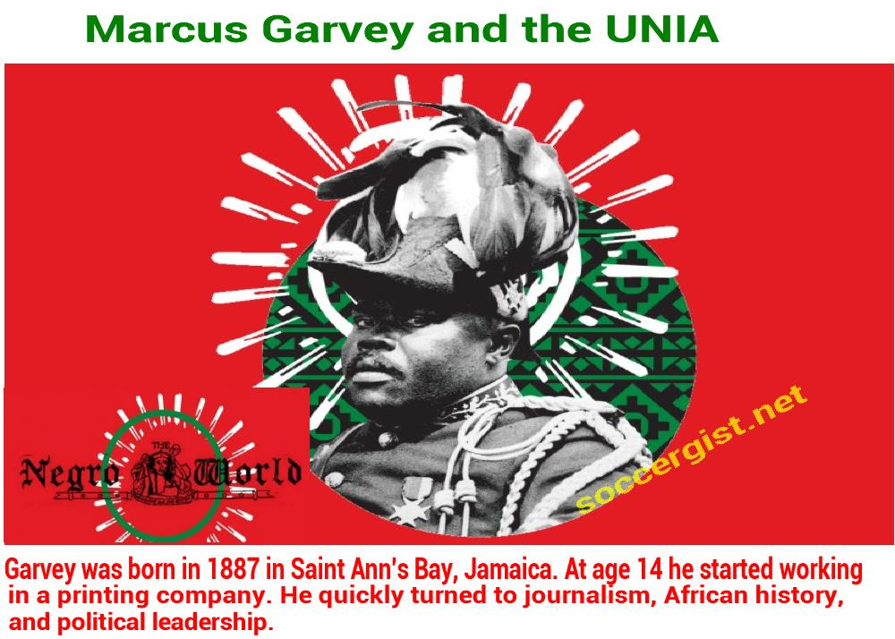 Who is Marcus Garvey