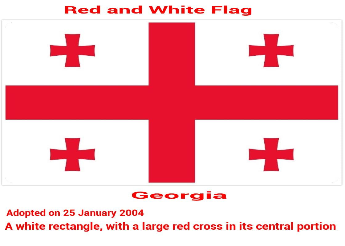 Georgia-white-red-cross-flag