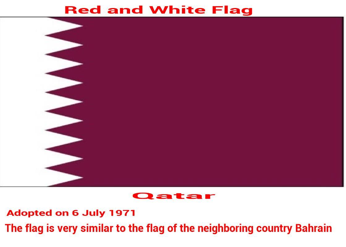 qatar-white-maroon-red-nine-triangle-flag