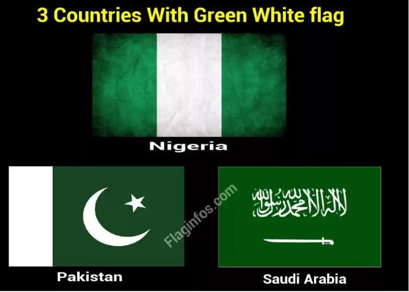 países con bandera verde-blanca