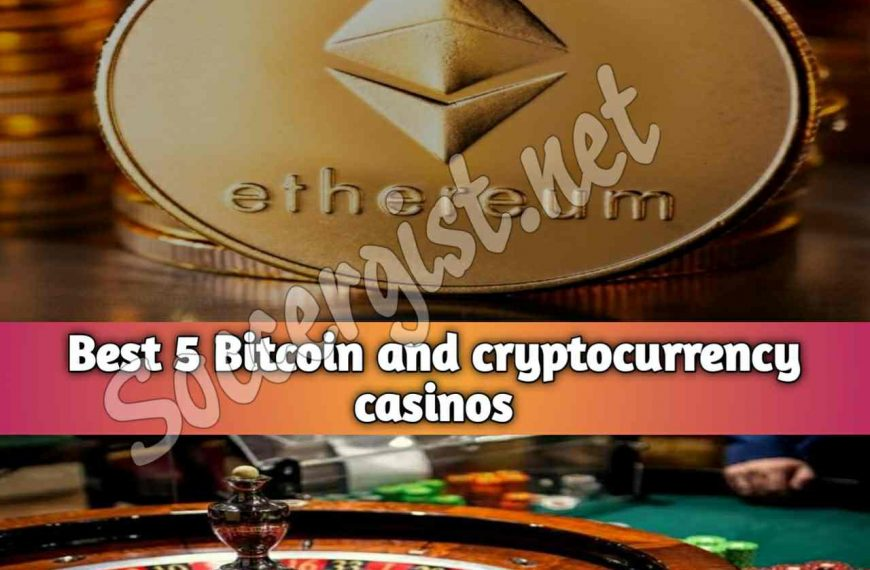 5 Bitcoin and cryptocurrency casinos website platform in 2021 (play with cryptos and different altcoins)