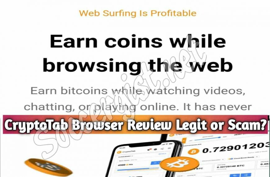 CryptoTab Browser Review Legit or Scam? A browser that allows you to mine Crytocurrency with Little effort.